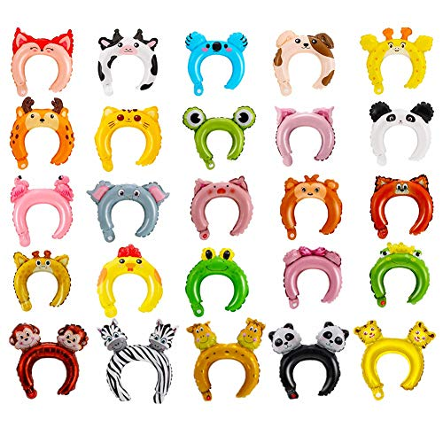 25 PCS Diadema Inflable
