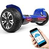 """8.5"""" Premium Offroad Hoverboard Bluewheel HX500 SUV Deutsche Qualitäts Marke - Kinder Sicherheitsmodus & App - Bluetooth - Starker Dual Motor - Elektro Skateboard Self Balance Scooter"""