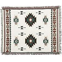 W&ZCH Manta de Ocio geométrica tapicería de la Aldea Americana Manta de la Manta de Tela