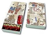Paper+Design Streichhölzer ´Capitals all over´ 04111