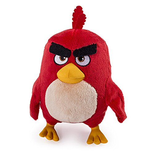Image of Angry Birds 20cm Soft Toy - Red