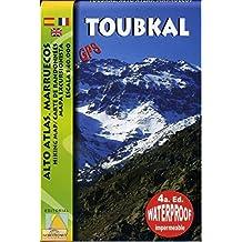 Mapa Toubkal Alto Atlas Marruecos 1:40000