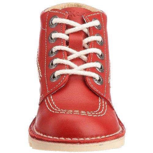 Kickers Kick Hi J, Bottines Fille Rouge (Red)