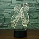 Creative Baby Gifts Lighting Fixture 3D USB Decor Vision Desk Lamparas 7...
