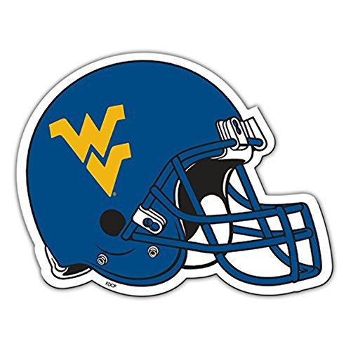Fremont Die West Virginia Mountaineers 30,5 cm Casco Magnete Resistente Borsa università