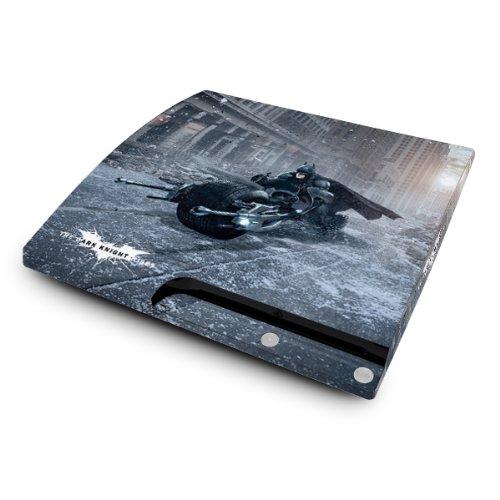 YOUNiiK Styling Skin Designfolie für Sony PlayStation 3 slim / PS3 slim - Batman Batpot