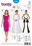 Burda Damen Schnittmuster 6869 Hochzeitskleid und Abendkleider