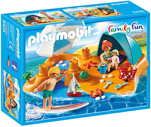 Playmobil- Familia en la Playa Juguete