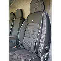 seatcovers by k-maniac Fundas de Asiento Conductor Doble Banco Apoyabrazos