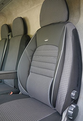 Elite seat covers for driver's seat and double bench Includes 1 armrest schonbezüge and seat cover