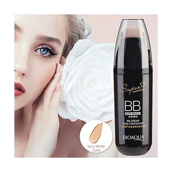 BB Cream, corrector humectante antienvejecimiento con rodillo de desplazamiento para maquillaje facial