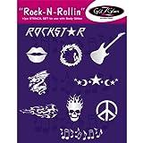 Tatouages temporaires: Pochoirs Rock N Rollin pour tatouages - Best Reviews Guide