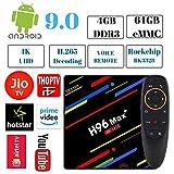 PHANTIO H96 MAX+ 4K Smart TV Box - Jio TV Hotstar Android 9.0