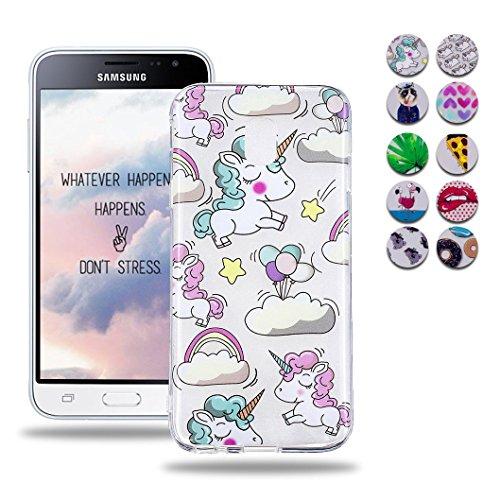 custodia samsung galaxy j5 2017 con unicorno