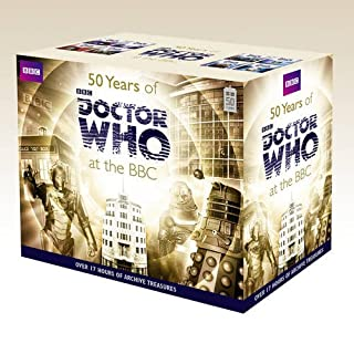 Fifty Years Of Doctor Who At The Bbc (Box Set) (Dr Who) (1471305082)   Amazon price tracker / tracking, Amazon price history charts, Amazon price watches, Amazon price drop alerts