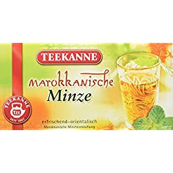 Teekanne Marokkanische Minze 20 Beutel, 6er Pack (6 x 36 g)