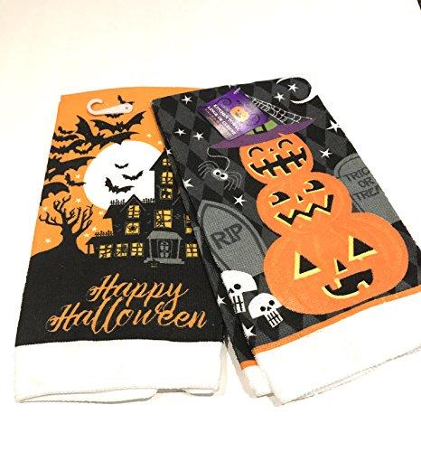 Happy Halloween Küche Handtuch Set