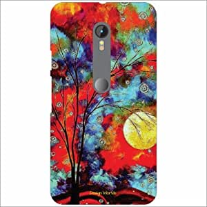 Design Worlds - Motorola Moto G (3rd gen) Designer Back Cover Case - Multic...