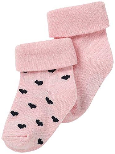 Noppies Baby-Mädchen G Socks 2pck Naples-67381, Rosa (Light Rose C092), Neugeboren (3M-6M)