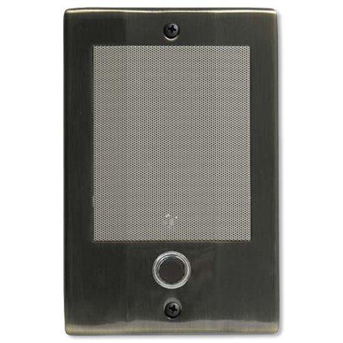 M-s-intercom-system (M&S Systems D3BN Doorbell Intercom, Antique Brass by M&S Systems)
