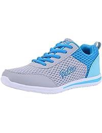 Zapatos con correa malla para mujer,Sonnena Zapatos de mujer de moda Zapatos casuales Zapatos para caminar al aire libre Zapato plano Zapatos deportivos