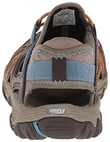 SUGAR All Blaze BROWN Merrell BLUE Out femme Sandales Sieve z0RPqw