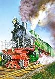 Unbekannt 1 Stück: Mini - Puzzle 24 Teile - Eisenbahn & Auto´s & Fahrzeuge - Castorland Auto Baustelle Kinder Kinderpuzzle Minipuzzle Minipuzzles - Mitgebsel / Preis für Kindergeburtstag - Jungen