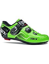 Sidi Kaos - Zapatillas de Ciclismo de Carretera, Color Verde