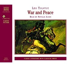 War and Peace (Abridged 4 CDs) by Leo Tolstoy