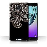 Coque de Stuff4 / Coque pour Samsung Galaxy A5 (2016) / Fleur Design / Tatouage au Henné Collection