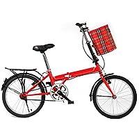 Bicicletas Plegables Bicicletas De 20 Pulgadas Hombres Y Mujeres Bicicletas Estudiante Coche Ultra Ligero Niños Adultos