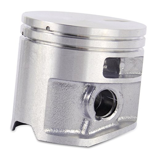 LETAOSK 44.7mm Kolben & Dichtung & Pin & E-Clip passend für STIHL MS261 - Eclip-pin