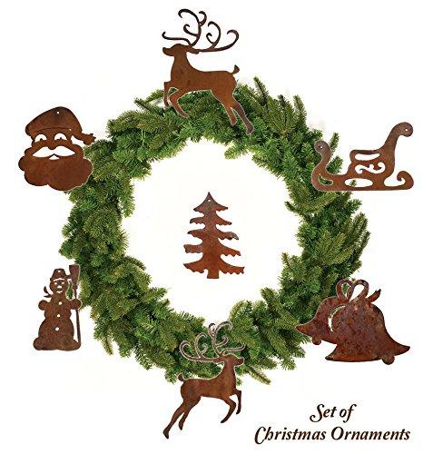 California Home and Garden Christmas Ornament Set