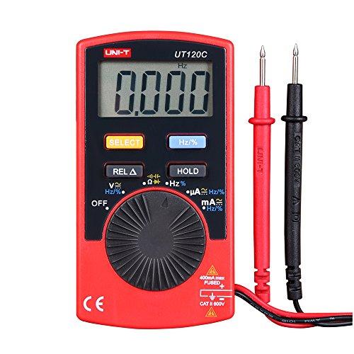 Uni-T UT120C Super Slim Pocket Handheld Digital Multimeter DC/AC Amp Tester