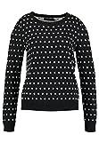 Even&Odd Strickpullover Damen mit Muster - Pullover In Schwarz, M