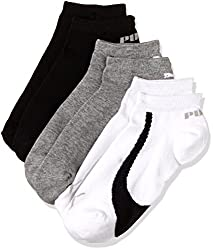 Puma Mens Socks (IN91088901_White, Black and Grey_one size)