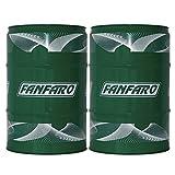 FANFARO 2 x 60 Liter Garagenfass, TSX 10W-40 Motorenöl