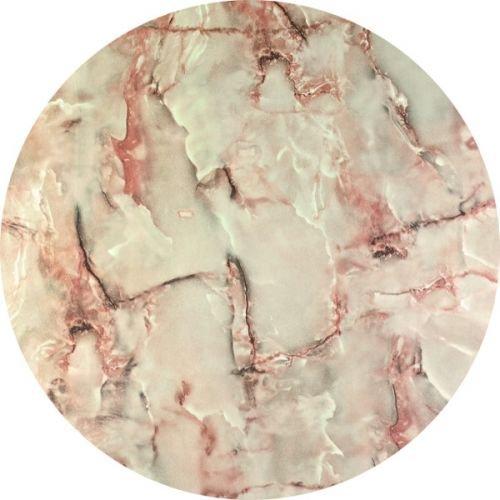 Werzalit Tischplatte, Dekor Marmor Onyx Größe Rund 80 cm