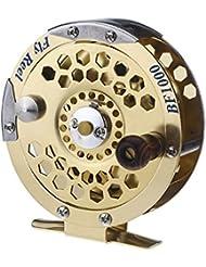 Lixada Accessoire de pêche -Moulinet de pêche En métal /Fly Fish Reel Ancien navire BF1000A de roue de pêche sur glace 0,5 mm / 500m 1: 1