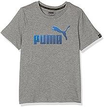 Puma Hero-Camiseta de manga corta para niño, color gris