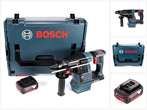 Preisvergleich Produktbild Bosch GBH 18 V-26 Akku Bohrhammer Professional SDS-Plus in L-Boxx mit 1x GBA 5 Ah Akku
