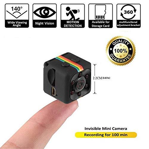 DYWLQ Mini Versteckte Kamera kit HD Camcorder Nachtsicht 1080 P Sport DV Kamera Video Recorder Infrarot Auto DVR Kamera Bewegungserkennung Hidden Camera Camcorder Dvr