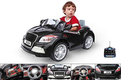 6V-electric-car-with-parental-remote-control-Black-electric-BMW-for-children