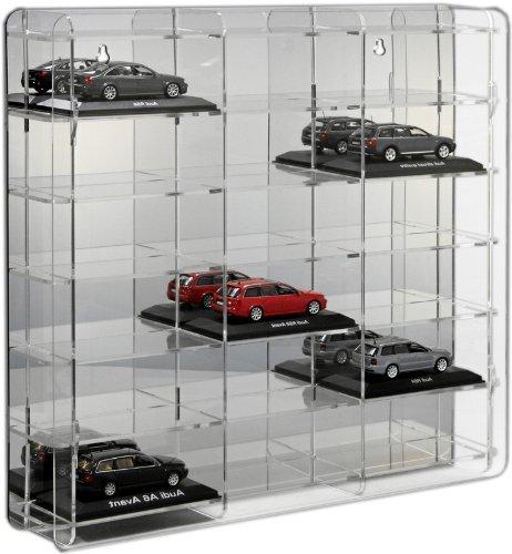 SORA vitrine de voitures 1/43 Modèle avec panneau arrière en miroir