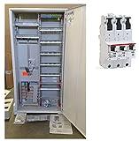TM: Striebel&John ABB Zählerschrank 1 Zähler 3.HZ verdrahtet mit APZ-Verteilerfeld/KS243Z + 1x ABB SLS 50A, für das Einfamilienhaus