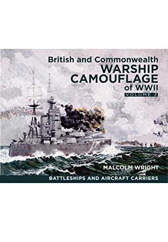 British and Commonwealth Warship Camouflage of WW II por Malcolm George Wright