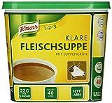 Knorr Klare Fleischsuppe mit Suppengrün, 1er Pack (1 x 0,88kg)