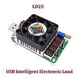 jumpeasy LD25 verstellbare aktuelle spannung meter led display das fan entlastung batterie testen elektronik laden das kabel test widerstand