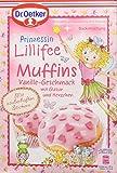 Dr. Oetker Prinzessin Lillifee Muffins Vanille-Geschmack, 3er Pack (3 x 397 g)