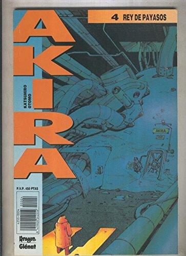 Akira numero 04 (numerado 1 en interior cubierta) par Katsuhiro Otomo